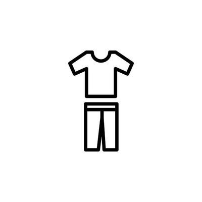 衣服图标矢量图
