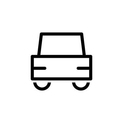 汽车图标矢量图