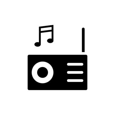 音乐图标矢量图