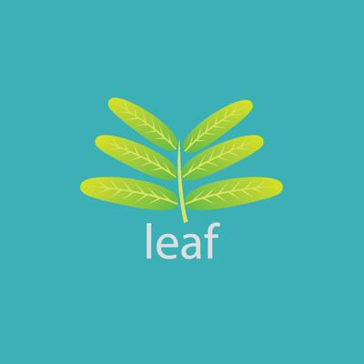 叶子 logo