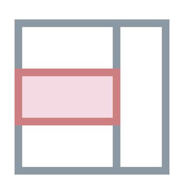 网页结构着色线图标