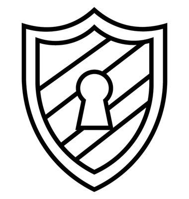 安全概念矢量图标