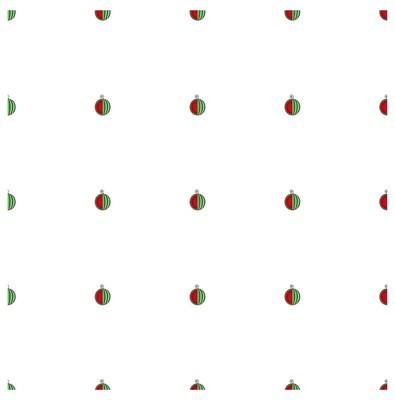 无缝背景平面设计红色和绿色西瓜的白色股票矢量插图