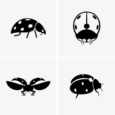 Ladybugs (shade pictures)