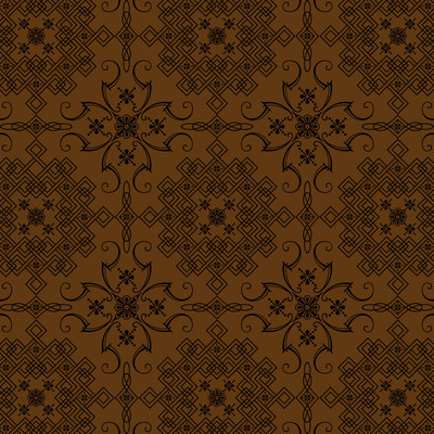 棕色花复古风格壁纸