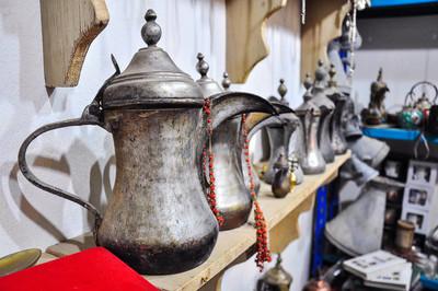 咖啡壶及沙特阿拉伯