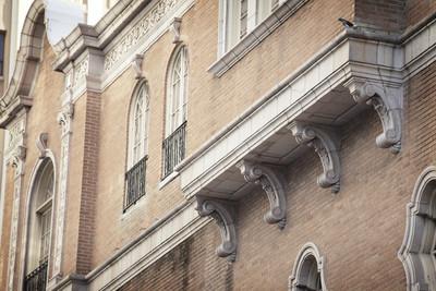 复古建筑施工