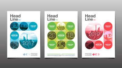海报,年度报告,到 2017 年,2018年、 2019,圈 Ab 海报模板