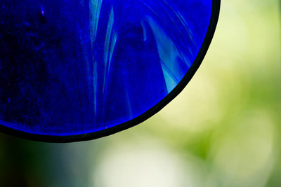 抽象背景-蓝色玻璃绿色背景