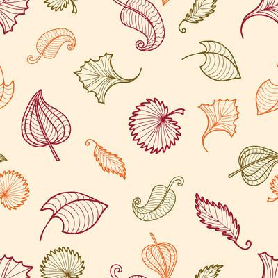 装饰叶子图案