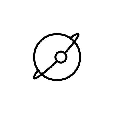 地球图标矢量图