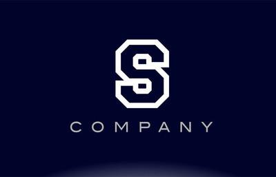 S 字母字母标志图标公司