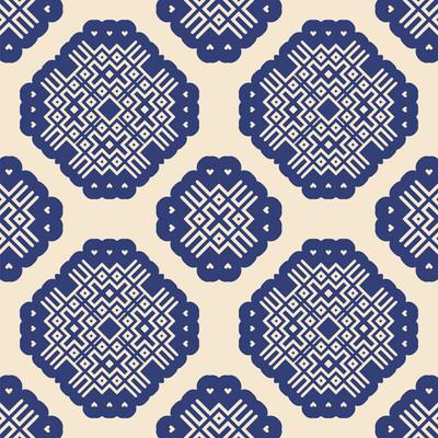 无缝模式几何装饰