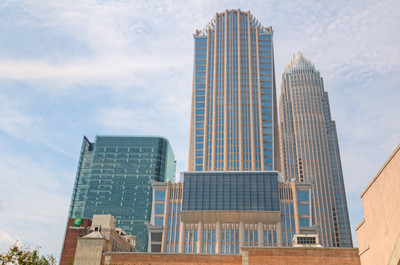 城市里的大楼