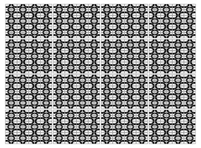 向量的几何图案背景黑色和白色