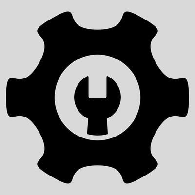 服务工具平面图标