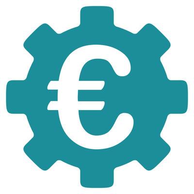 欧元发展图标