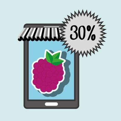 智能手机买在线水果
