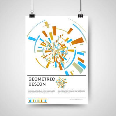 抽象海报设计
