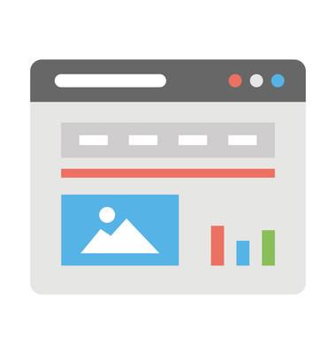 网页设计平面图标