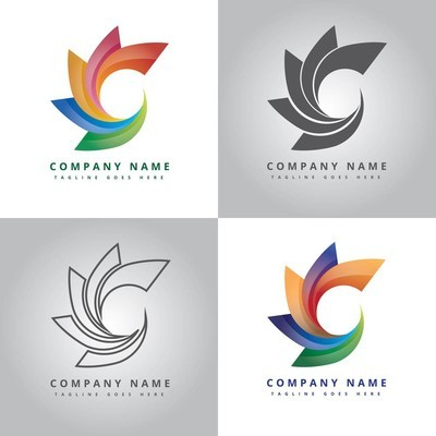 Modern circle logo design inspiration