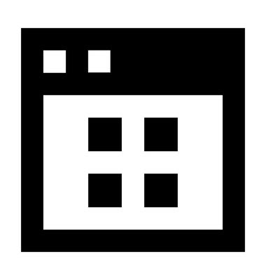 网页模板矢量图标