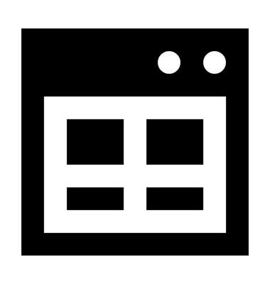 网页矢量图标