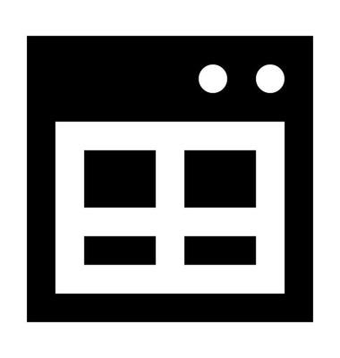 网页平面矢量图标