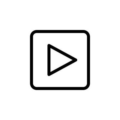 视频图标矢量图