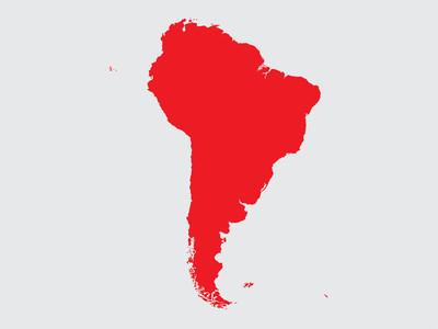 南美大陆的形状
