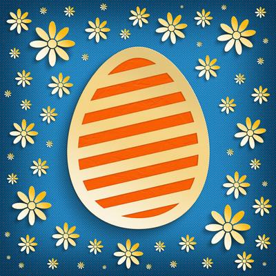 快乐复活节贺卡模板