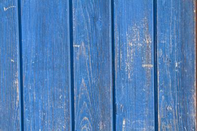 背景图像-蓝色木墙