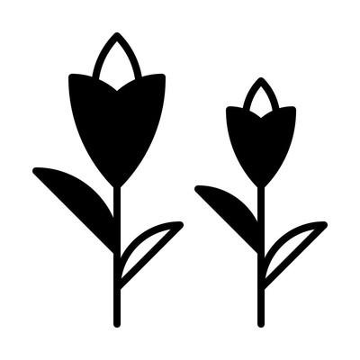 花线图标的网页, 移动和信息, 矢量插图