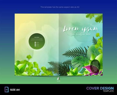 图书封面设计模板的各种模式