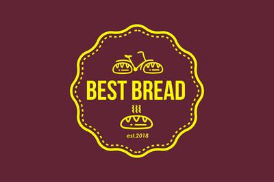 现代面包标志载体