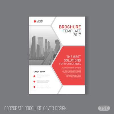 宣传册封面设计模板
