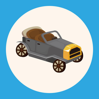 运输车主题元素图标元素