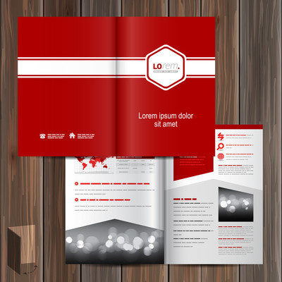宣传册模板设计