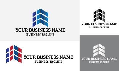 建筑矢量标志和业务