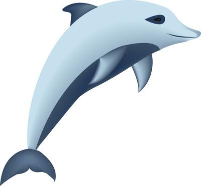矢量图像的海豚