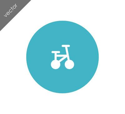 自行车简单图标