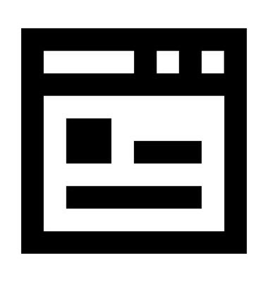 网页模板图标