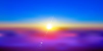 日出太阳风景背景