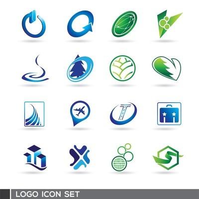 flat & modern logo template