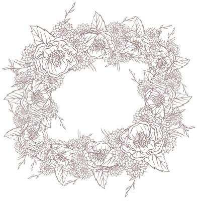 矢量图片不同的花