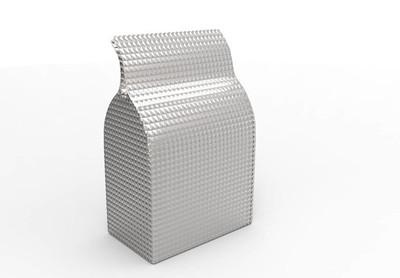 用于新设计的模板食品纸板包装