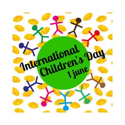 国际儿童日概念