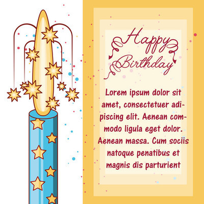 祝你生日快乐设计