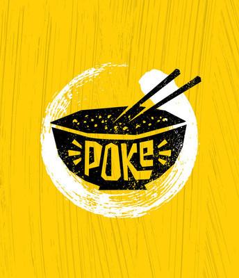 扑克碗海报模板