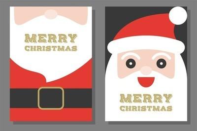 圣诞主题, 海报和请柬模板, 平面设计
